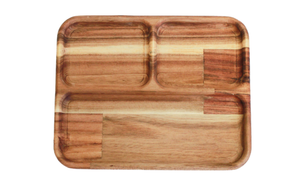 Rectangular Divided Tray by Qtoys