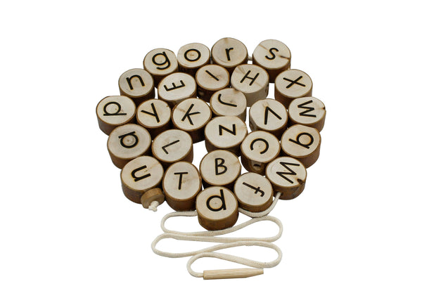 Alphabet Threading Set by Q Toys