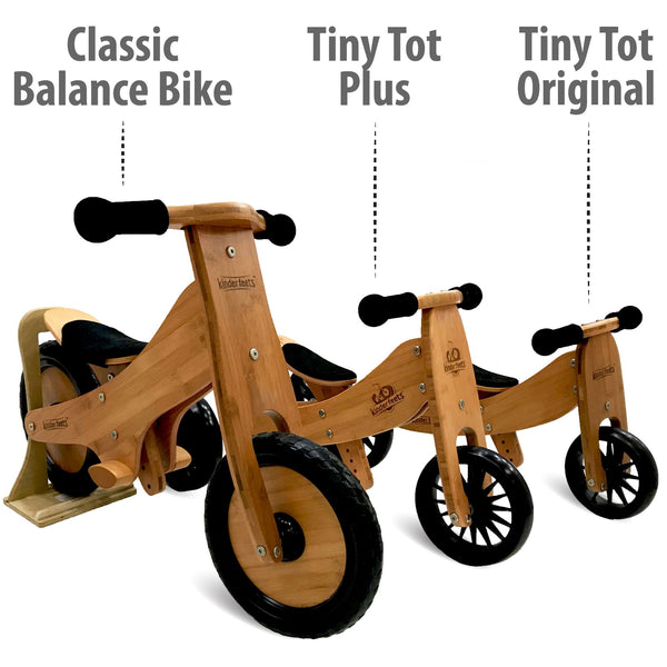Tiny Tot 2 in 1 Trike Bamboo by Kinderfeets