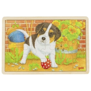 Little Dog Puzzle by Goki