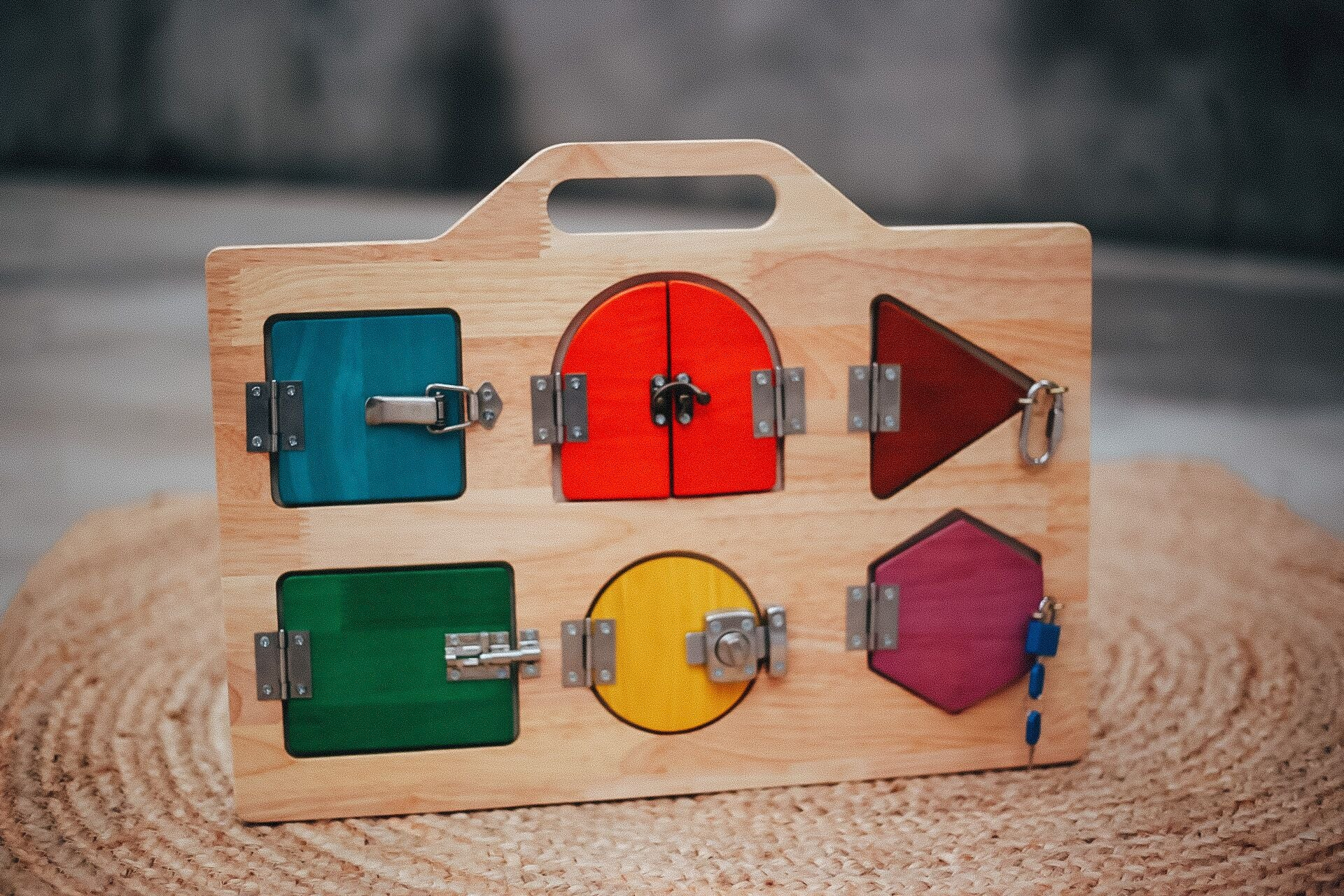 Lock Activity Board by Q Toys