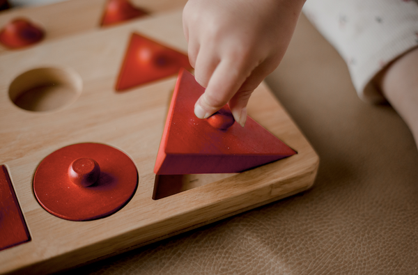 Toddler Knob Shape Puzzle by Q Toys