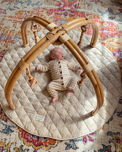 Rattan Play Dome by Arabella & Autumn