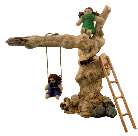 Coffeewood Swing Set by Papoose Toys