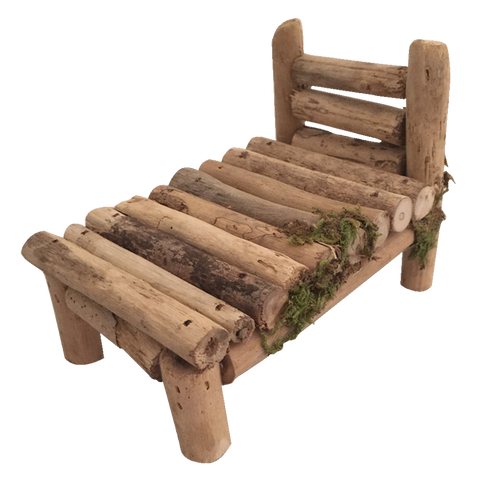 Woodland Furniture Bed by Papoose Toys