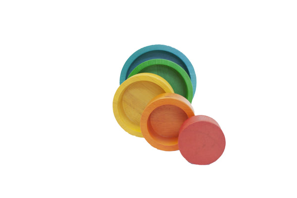 Nesting & Stacking Bowls by Q Toys