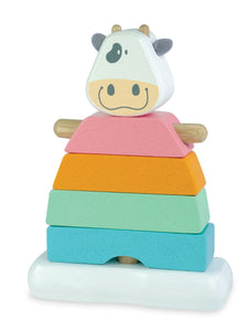 Pastel Stacking Cow by I'm Toy