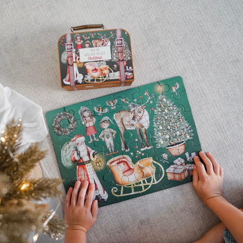 "Christmas ""Take Me With You"" Puzzle by Modern Monty"