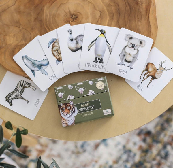 Animals Snap & Go Fish by Modern Monty