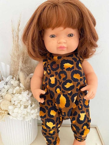 Eve Junior Design | Quinn Romper | Leopard | 38 - 40 cm