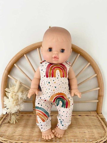 Eve Junior Design | Quinn Romper | Rainbows | 32 - 34 cm