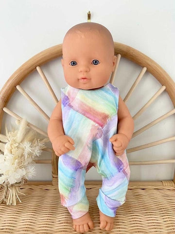 Eve Junior Design | Quinn Romper | Pastel Brush | 32 - 34 cm