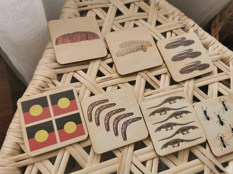 Indigenous 1 to 12 Puzzle by 5 Little Bears