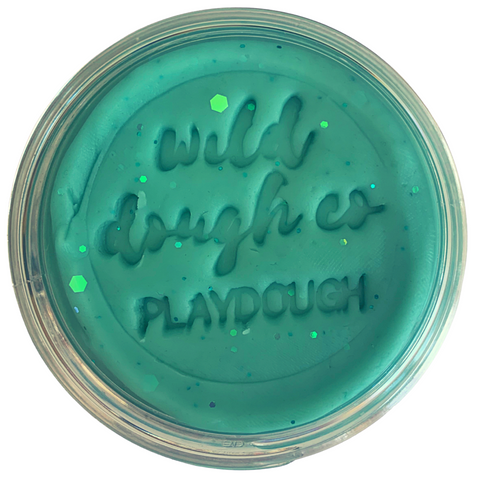 Mermaid Playdough by Wild Dough Co