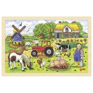 Mr Millers Farm Puzzle by Goki