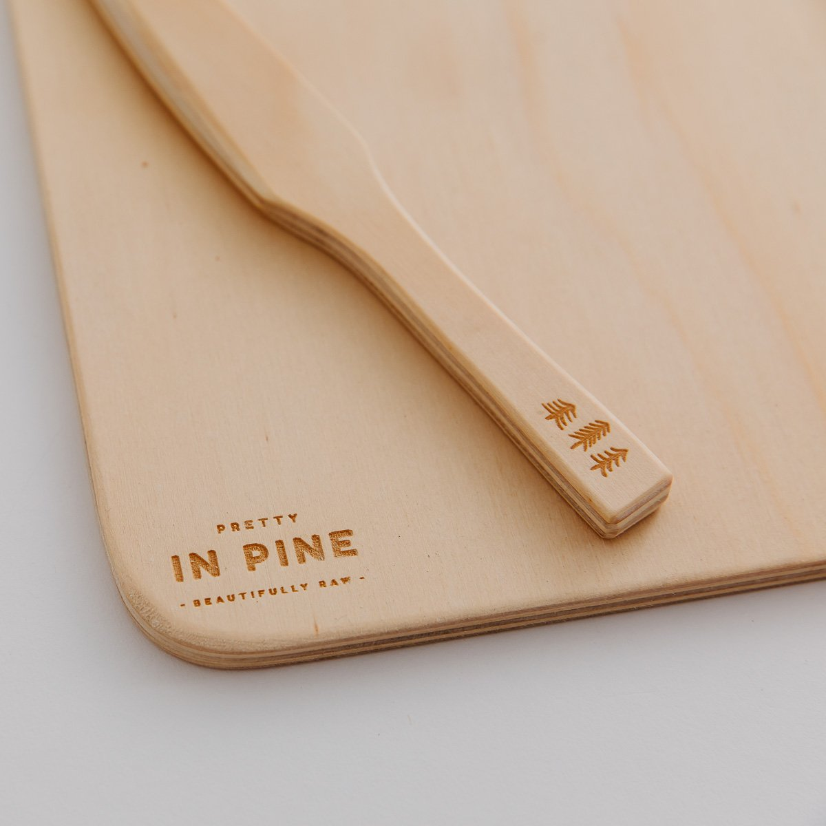 Playdough Board & Knife by Pretty In Pine