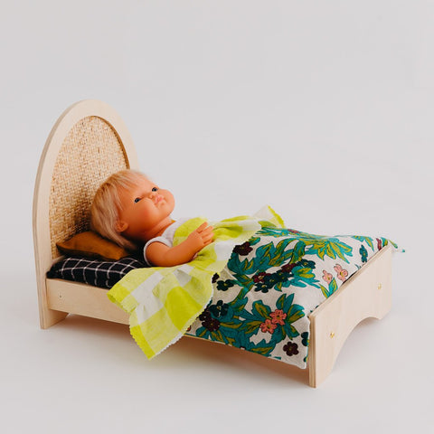 Woven Dolly Bed by Pretty In Pine
