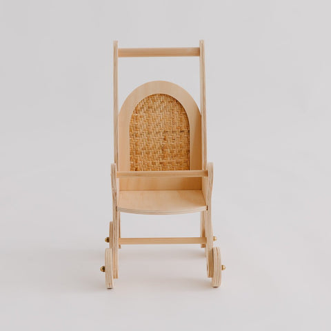 Woven Dolly Pram by Pretty in Pine