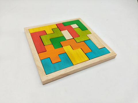 Tetrix Blocks Puzzle by Q Toys