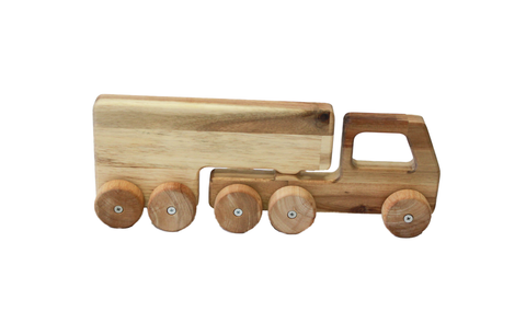 Solid Wooden Truck by Q Toys