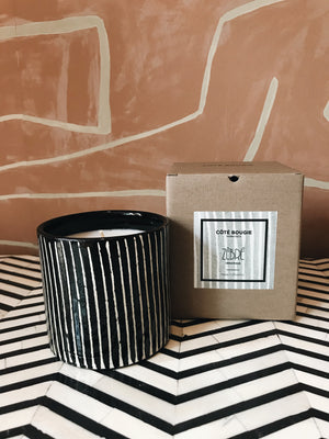Scented Candle 'Zebre'