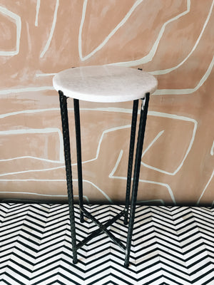 Side Table Marble Round