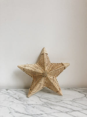Wall Lamp Star Rotan