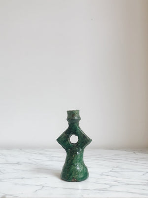 Candle Holders Marocco Star Dark Green