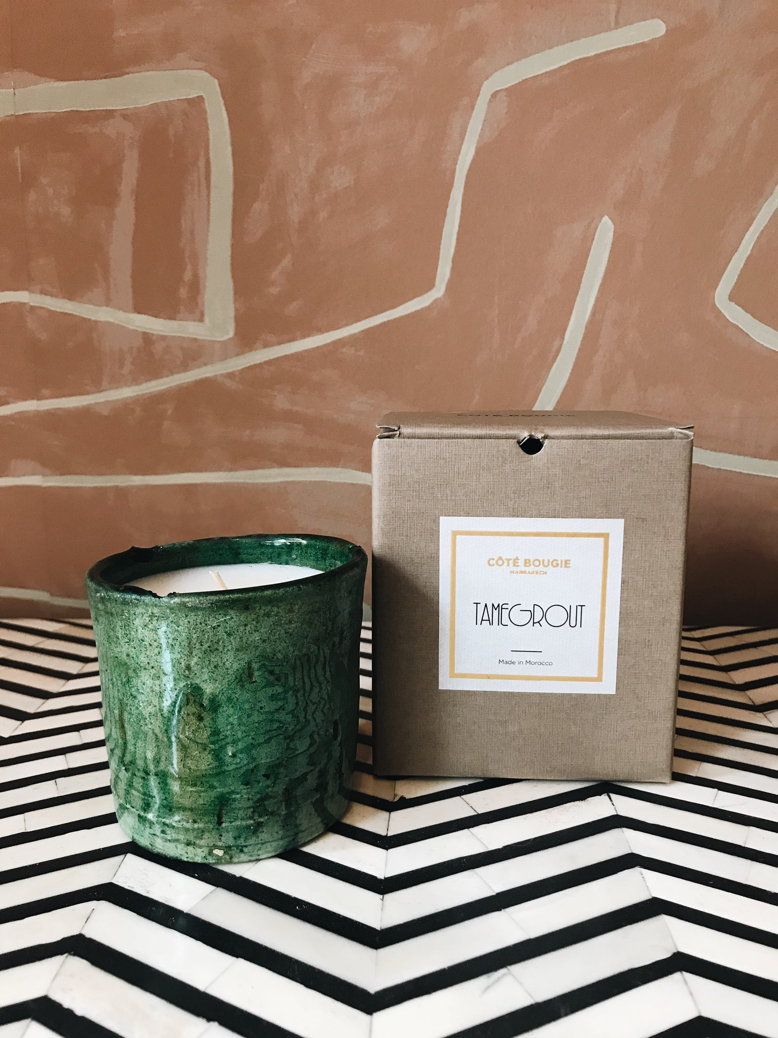 Scented Candle 'Tamegrout'