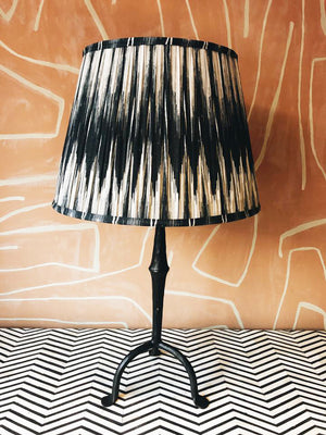 Lampshade Ikat Grey