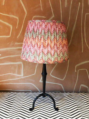 Lampshade Pink & Orange