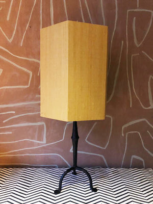 Lampshade Silk Yellow