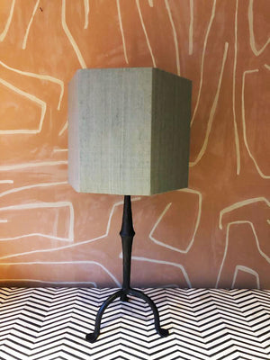 Lampshade Silk Green