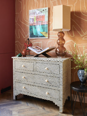 Dressoir Inlay India
