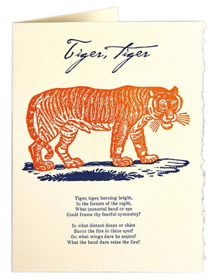 Card Tiger Tiger large