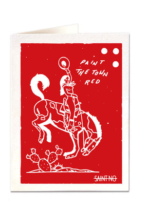 Card Paint the Town Red