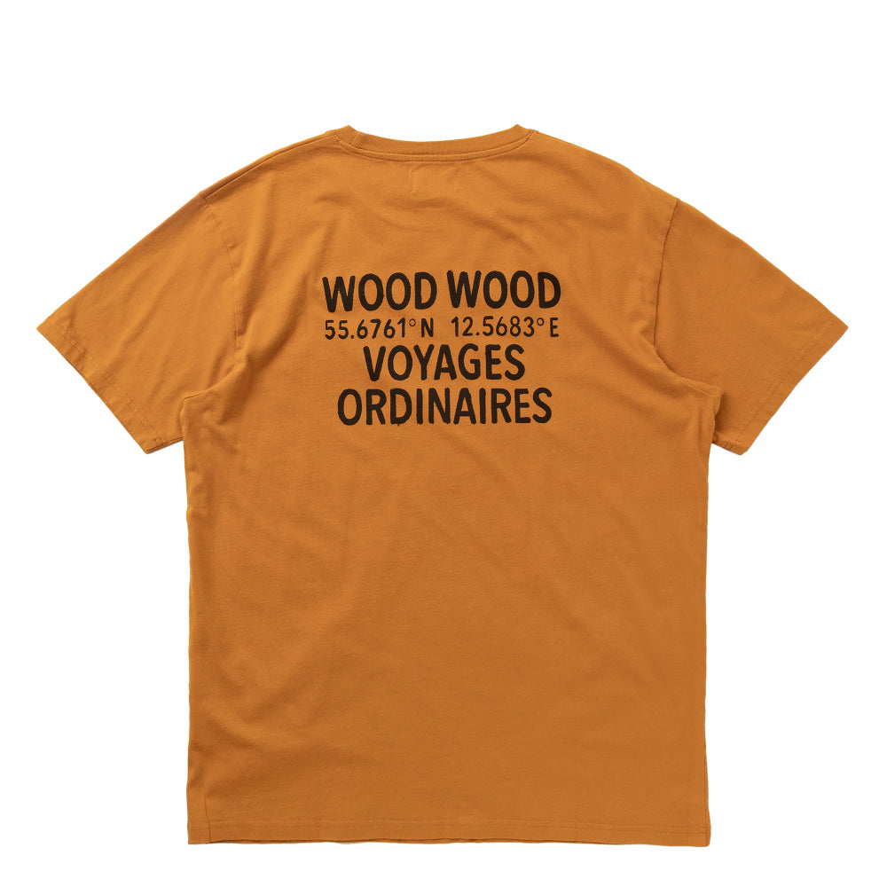 WOOD WOOD VOYAGES T-SHIRT