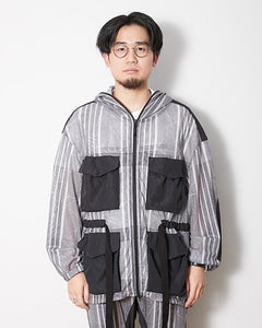 SNOW PEAK PRINTED INSECT SHIELD JACKET