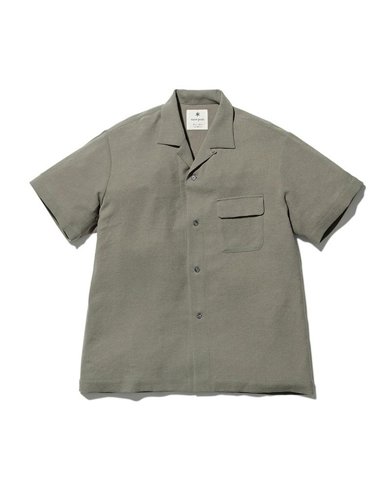 SNOW PEAK QUICK DRY CREPE WEAVE SOFT SHIRT