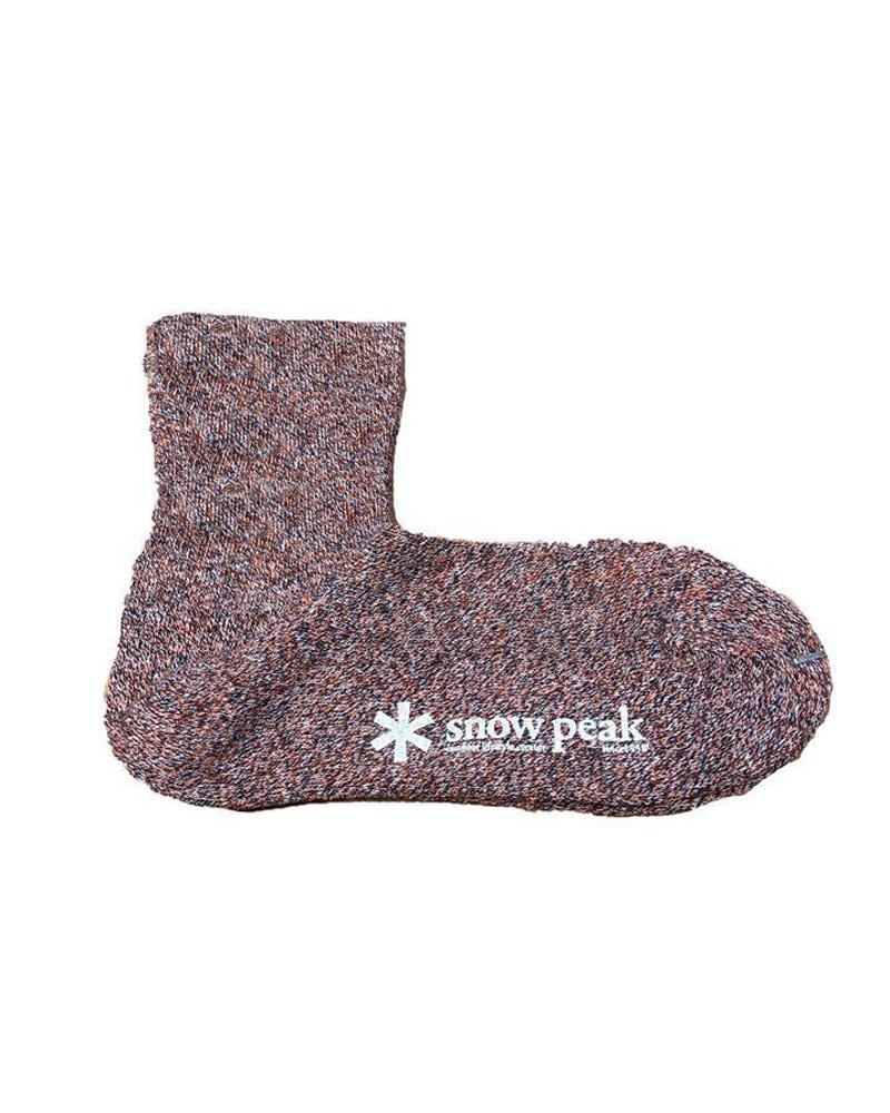 SNOW PEAK COTTON LINEN SOCKS