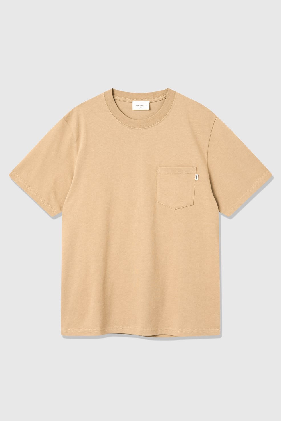 WOOD WOOD BOBBY POCKET T-SHIRT