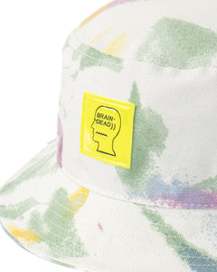 BRAIN DEAD DYED CANVAS BUCKET HAT