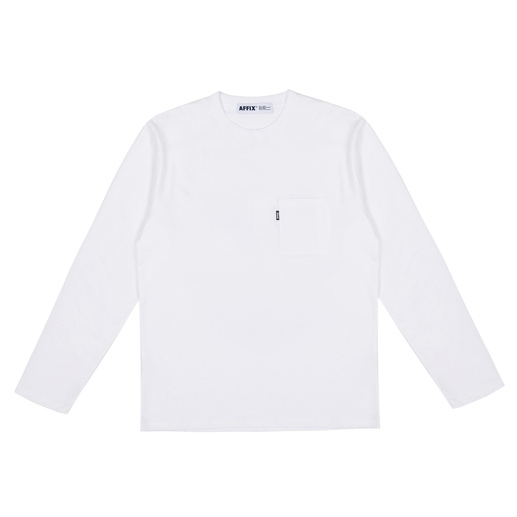 AFFIX LONG SLEEVE RADIO T-SHIRT