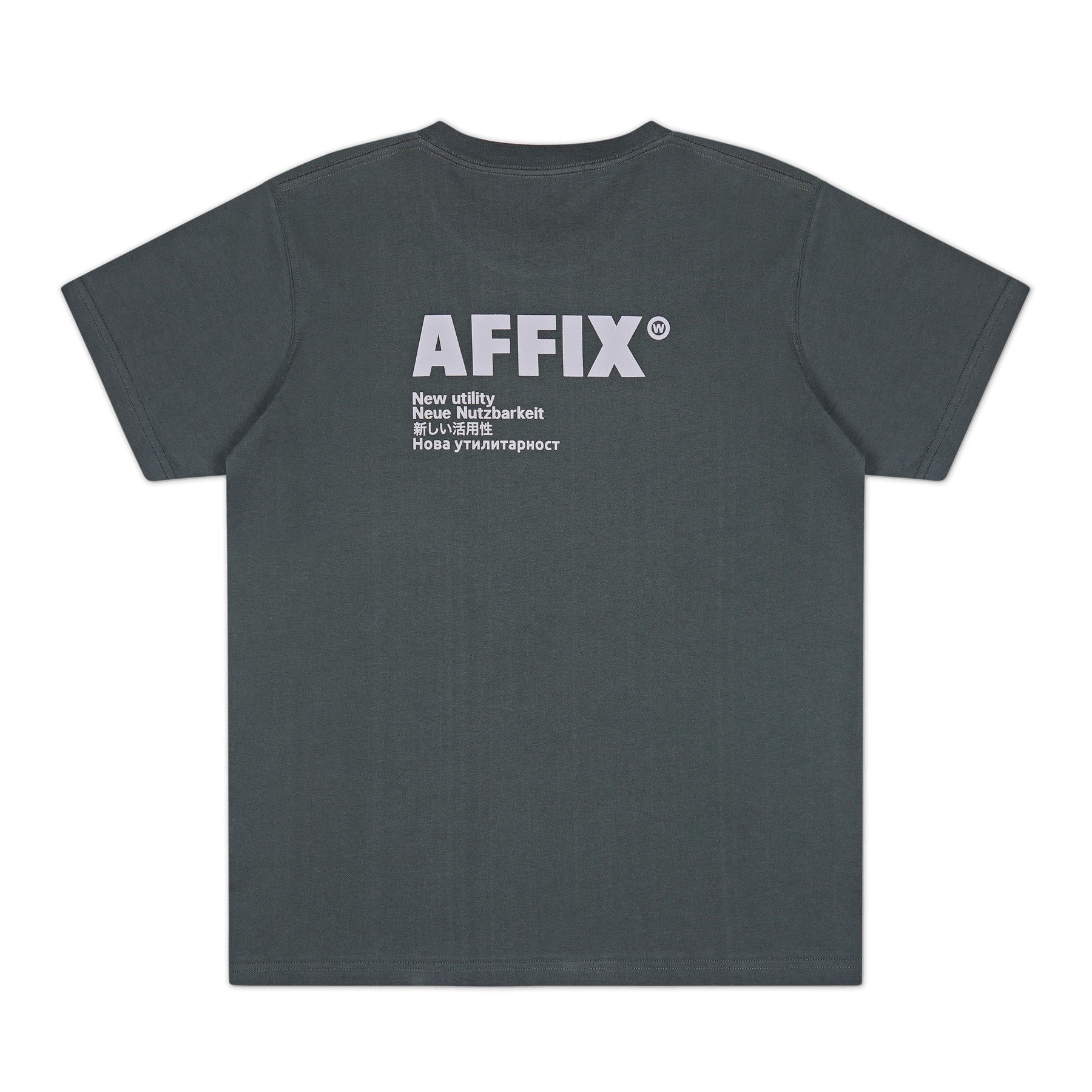 AFFIX BASIC LOGO SHORT SLEEVE T SHIRT