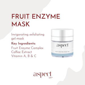 Aspect Fruit Enzyme & Aspect Dr Exfol A Plus Pigmentation Kit