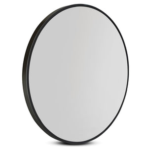 Round Wall Mirror 70cm Makeup Bathroom Mirror Frameless