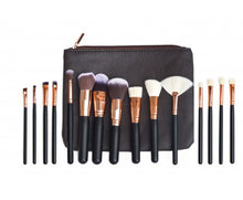 Load image into Gallery viewer, Pro Makeup Brushes Set - 15Pcs