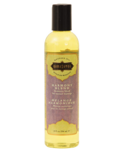 KAMASUTRA AROMATIC MASSAGE OIL HARMONY BLEND 8 oz