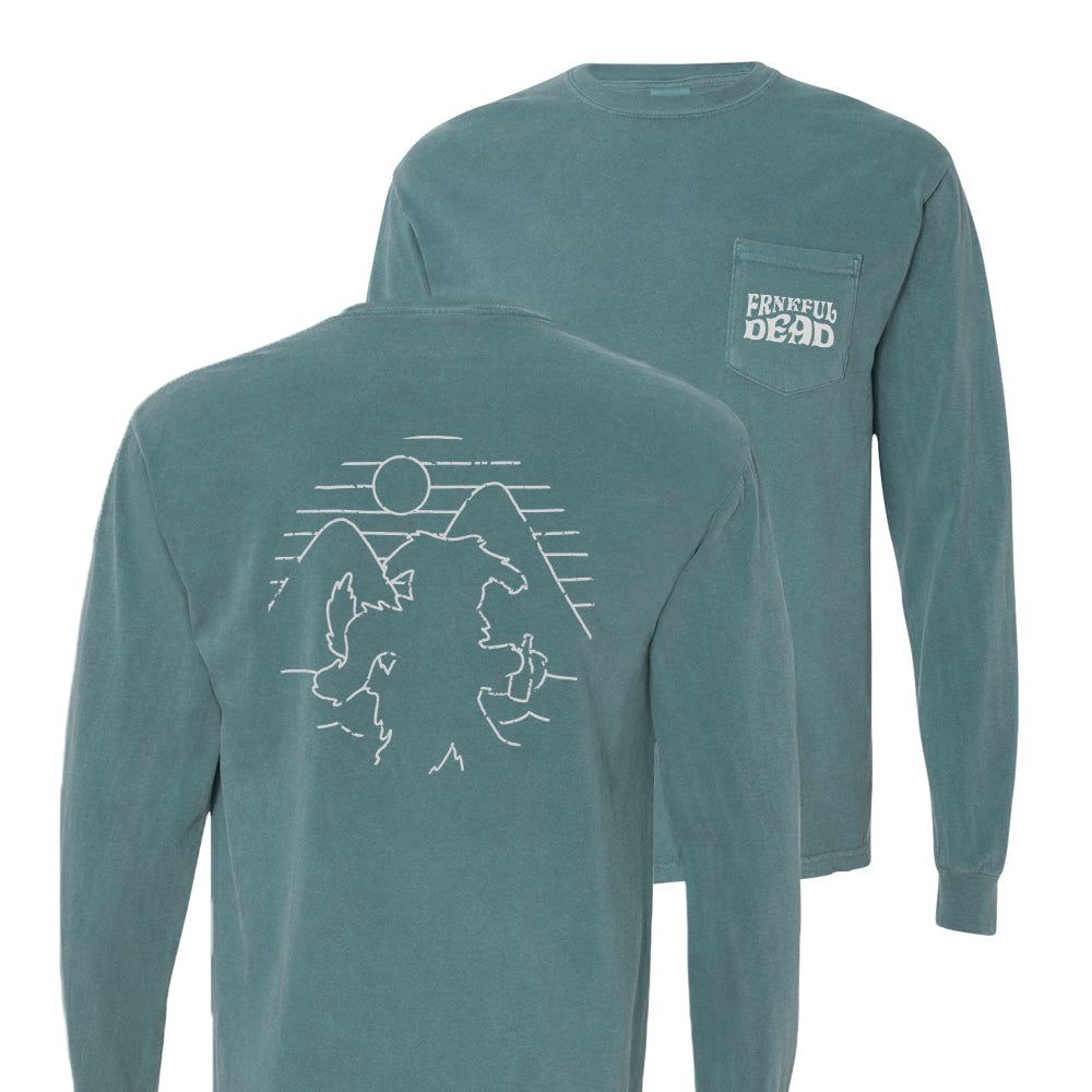 L/S Pocket Tee (Green)