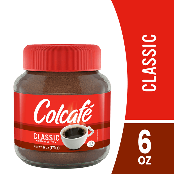 Colcafe Instant Coffee Powder Jar 6 Oz